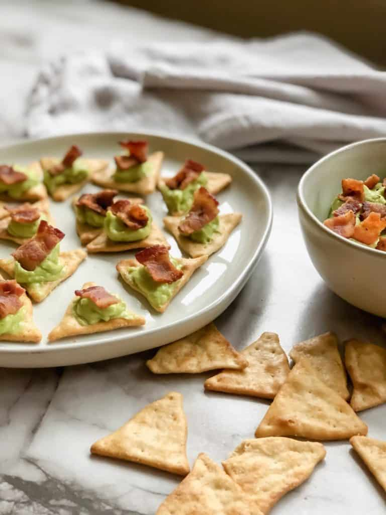 Whipped Avocado Dip with Bacon - Whatcha Cooking Good Looking?